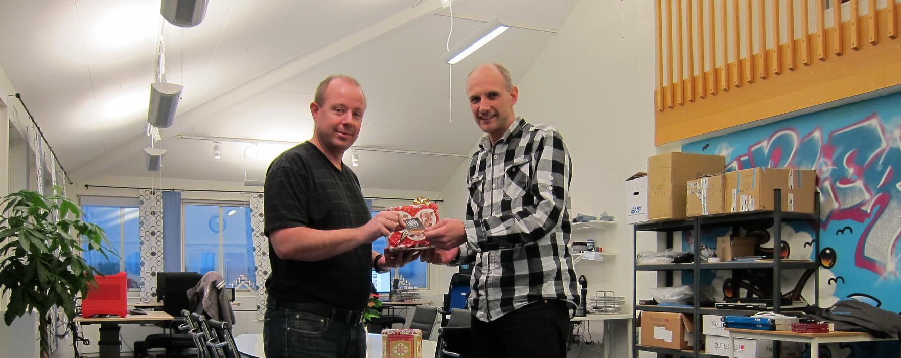 Anders Hög och Mikael Karlsson
