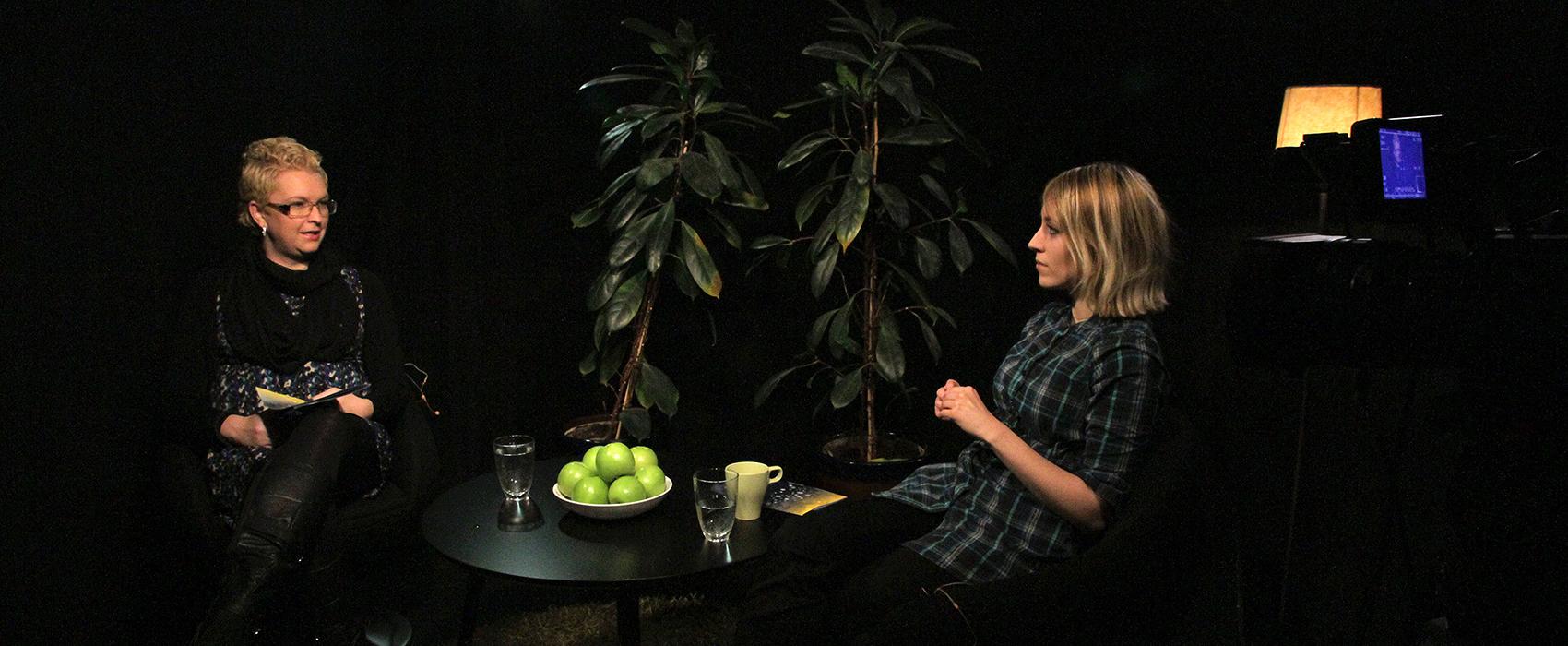Åsa Svanström i GLIMT studion