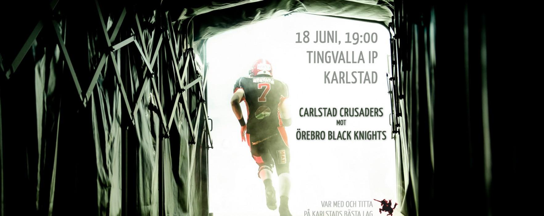 Carlstad Crusaders–Örebro Black Knights