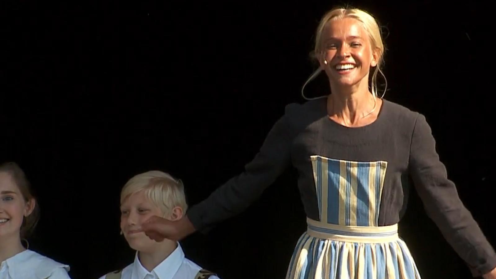 Klara Nilsson spelar huvudrollen Maria i sommarens uppsättning av The Sound of Music på Scalateatern i Karlstad