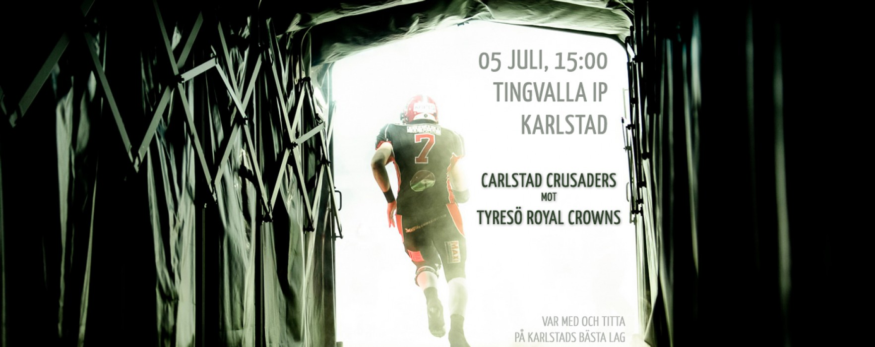 Carlstad Crusaders–Tyresö Royal Crowns