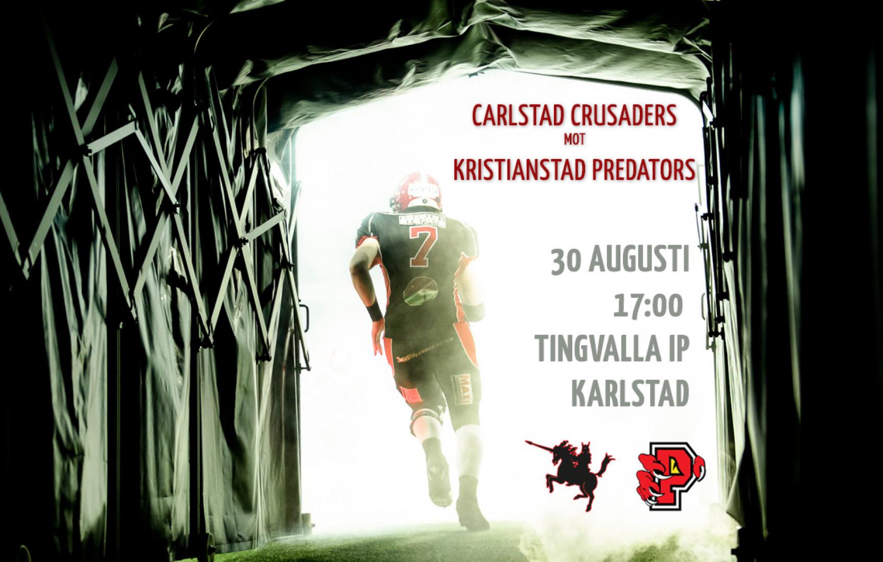 SM-semifinal Carlstad Crusaders–Kristianstad Predators live!