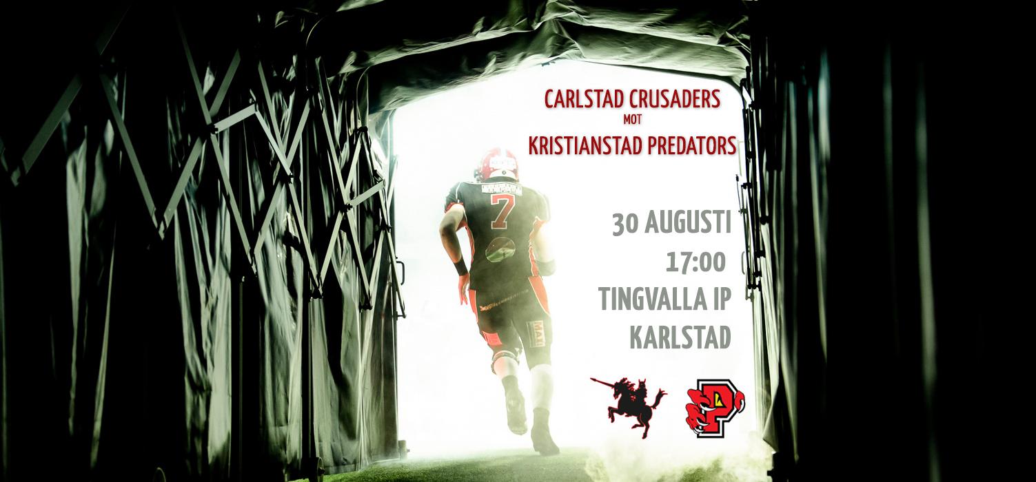 Carlstad Crusaders mot Kristianstad Predators SM-slutspel live!