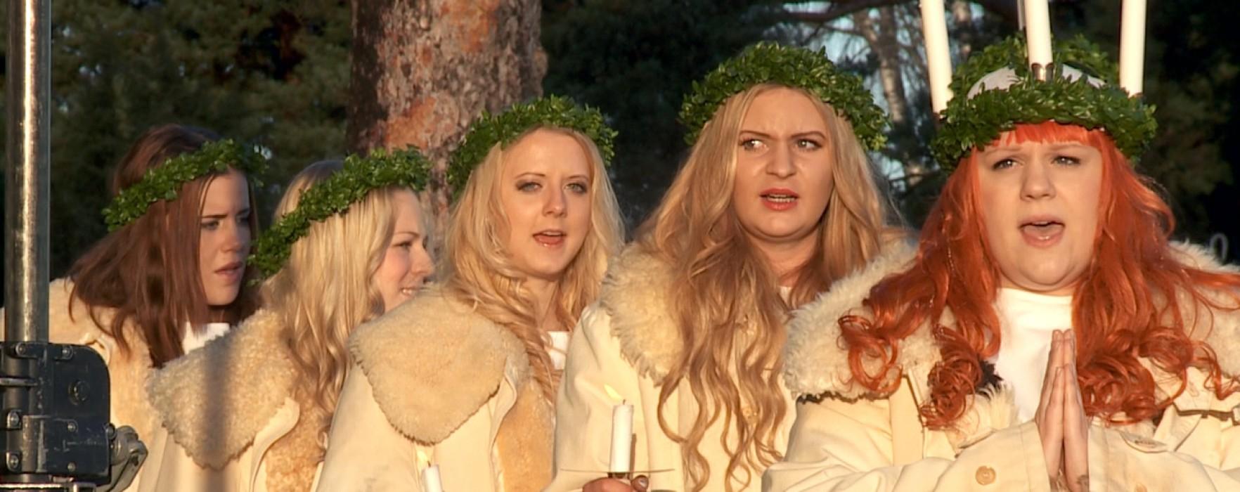 Värmlands Lucia 2014 – Kröningen och julmarknad