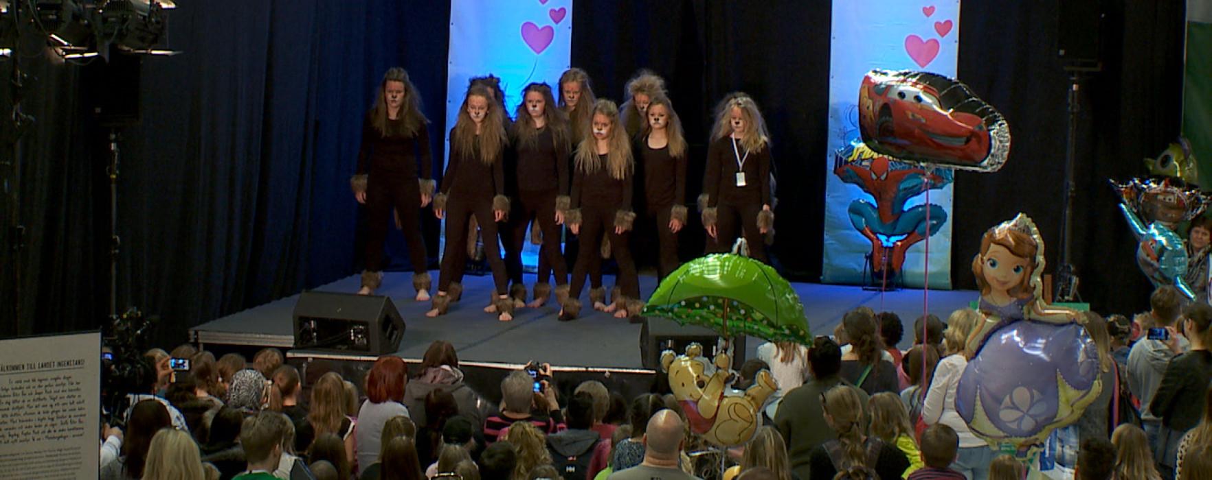 Glimt Barnmässan Special – Lejonkungen med Kils musikskola