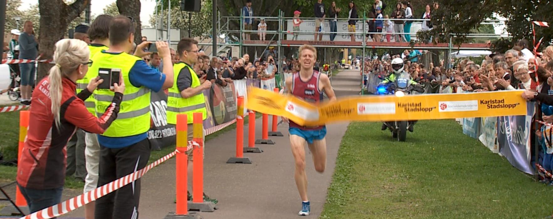 Glimt Sport – Karlstads Stadslopp 2015