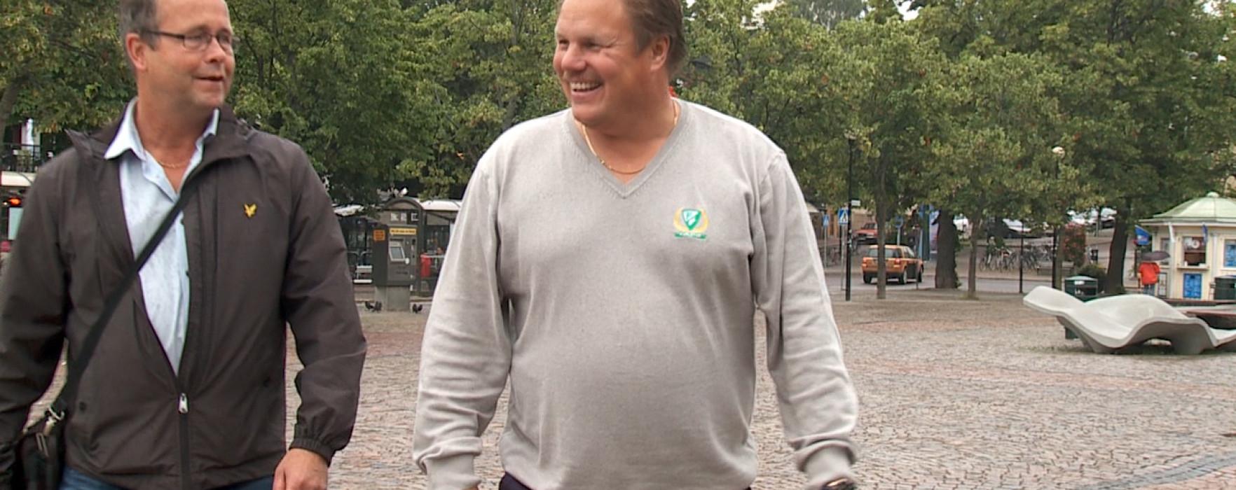Glimt Sport – Leif Carlsson om försäsongen till SHL