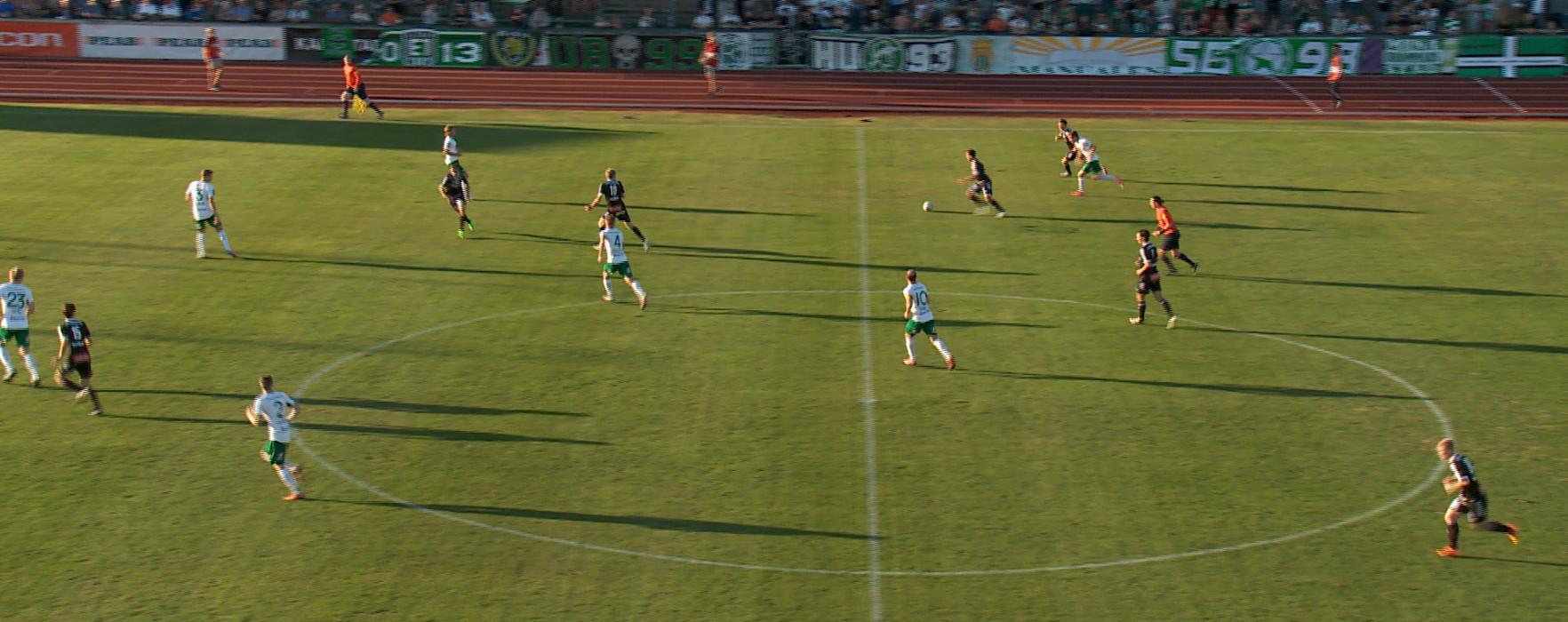 Sammandrag av matchen Carlstad United-Hammarby IF, Svenska Cupen