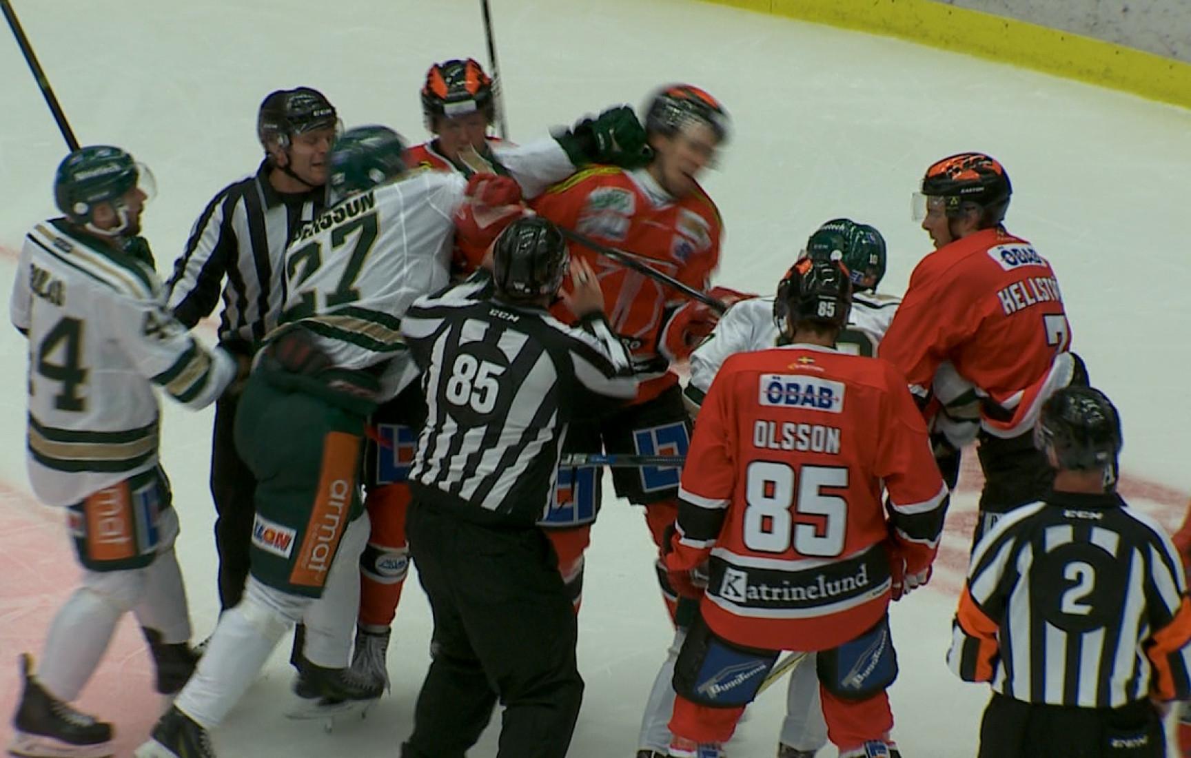 Glimt Sport – Örebro-Färjestad, sammandrag