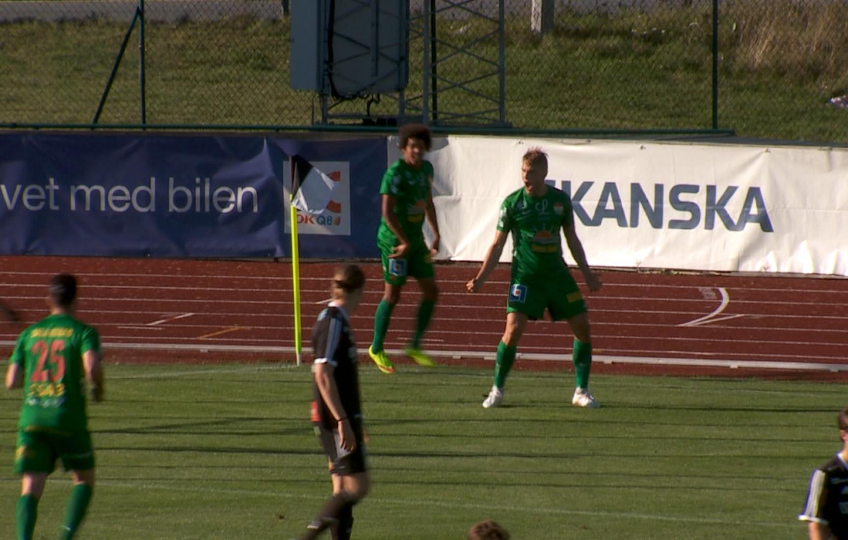 Carlstad United – Dalkurd FF, sammandrag
