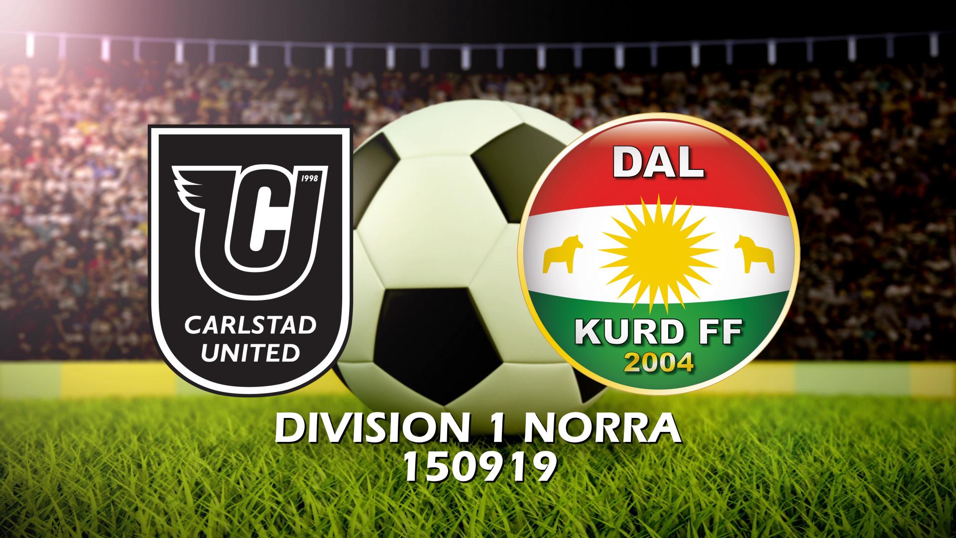 Carlstad United - Dalkurd FF