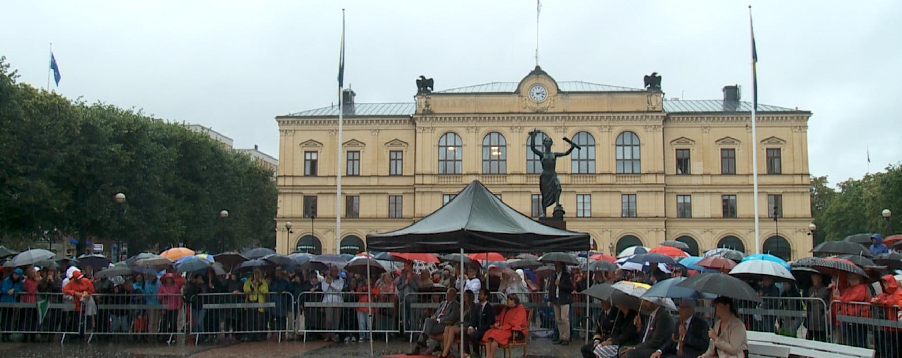 Glimt – Prinsparets besök i Karlstad