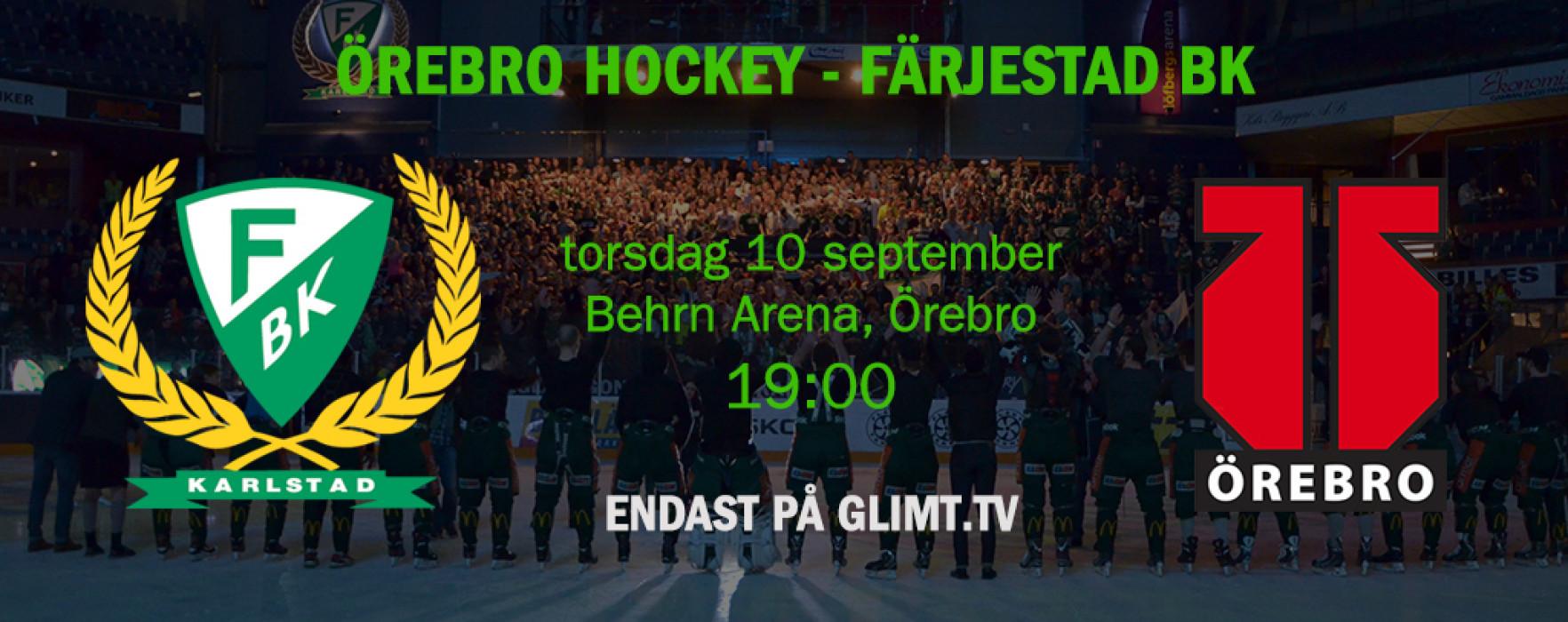 Glimt Sport – FBK Live i Örebro 10 sept.