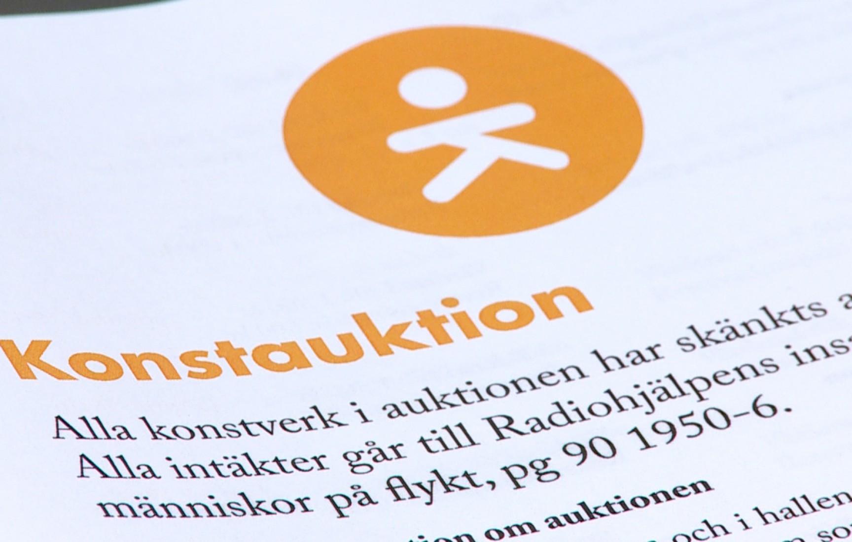 Stödkväll på Kristinehamns konstmuseum gav 60000 kr
