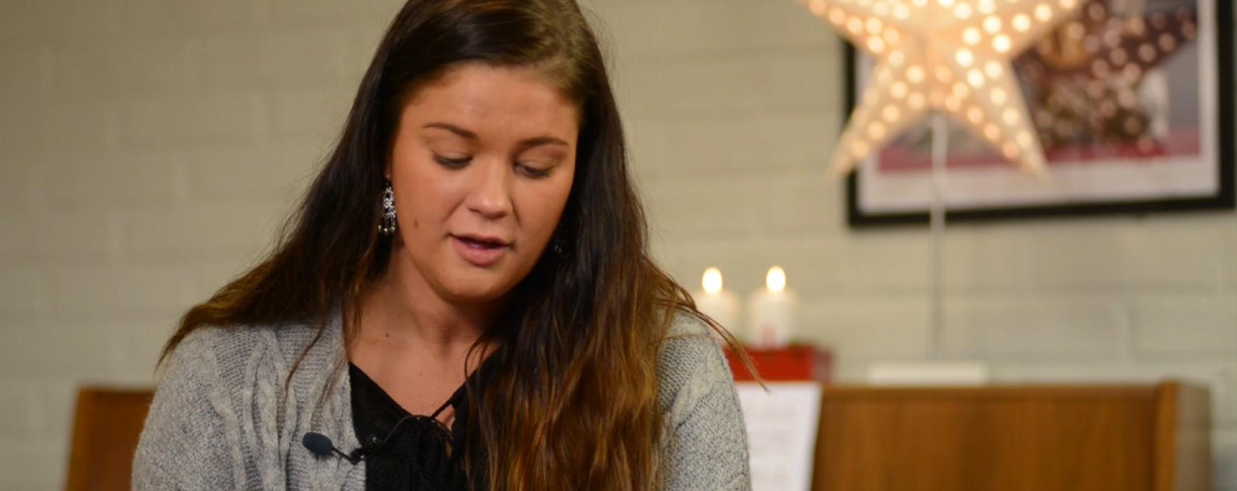 Ida Hallquist läser Julevangeliet