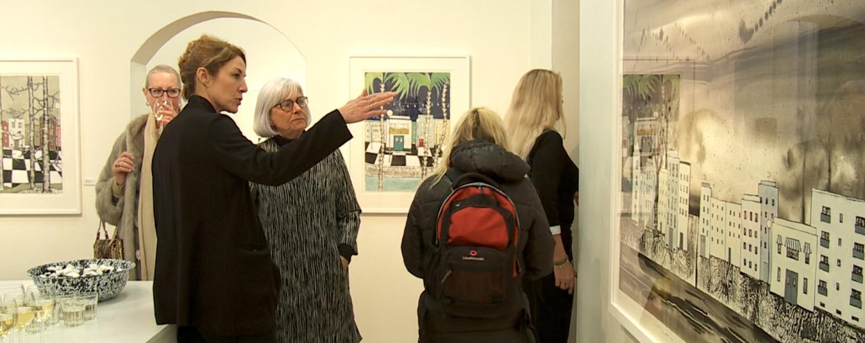 Karolina Nolin på Galleri Bergman