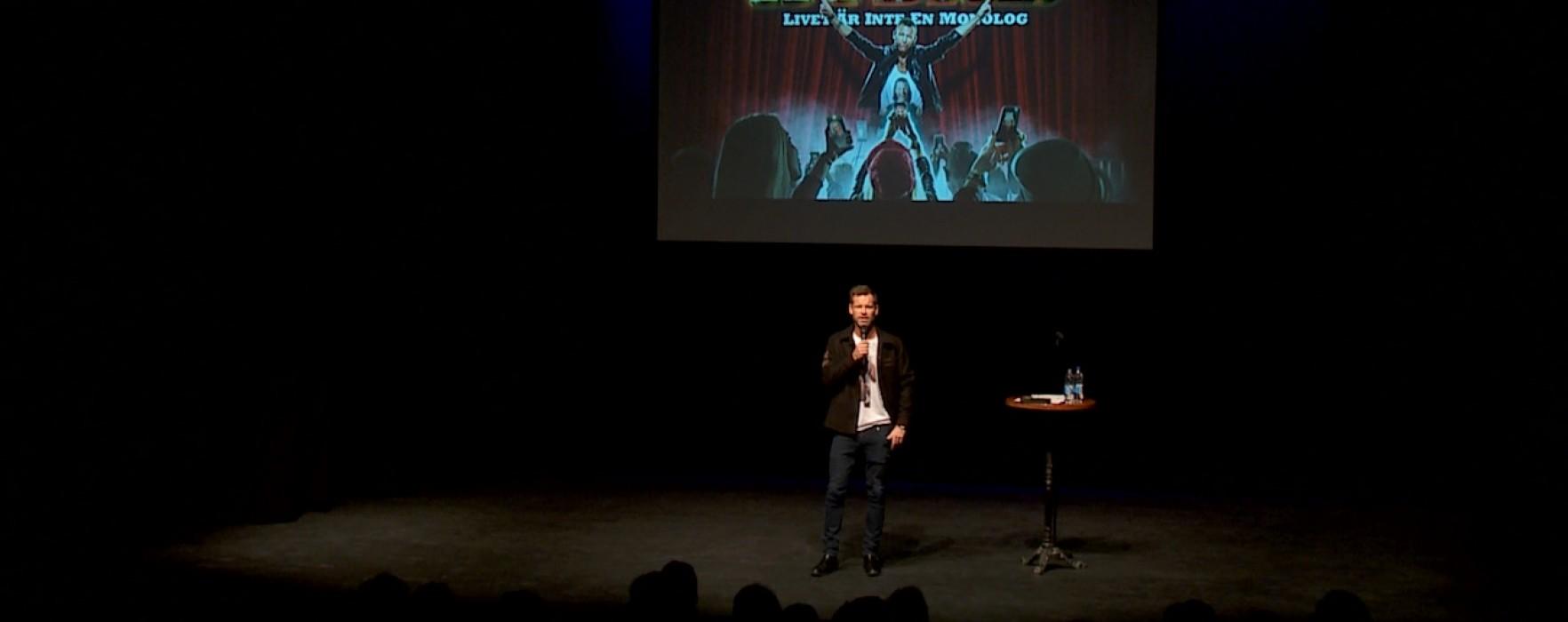 Mårten Anderssons nya show Hybris