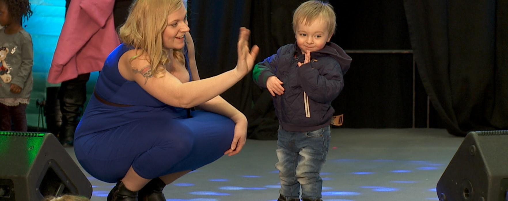 Stora mode- och barnvagnsshowen på Barnmässan 2016