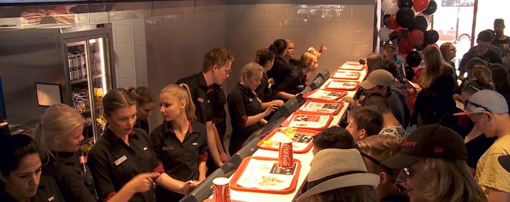 KFC öppnade i Välsviken i Karlstad