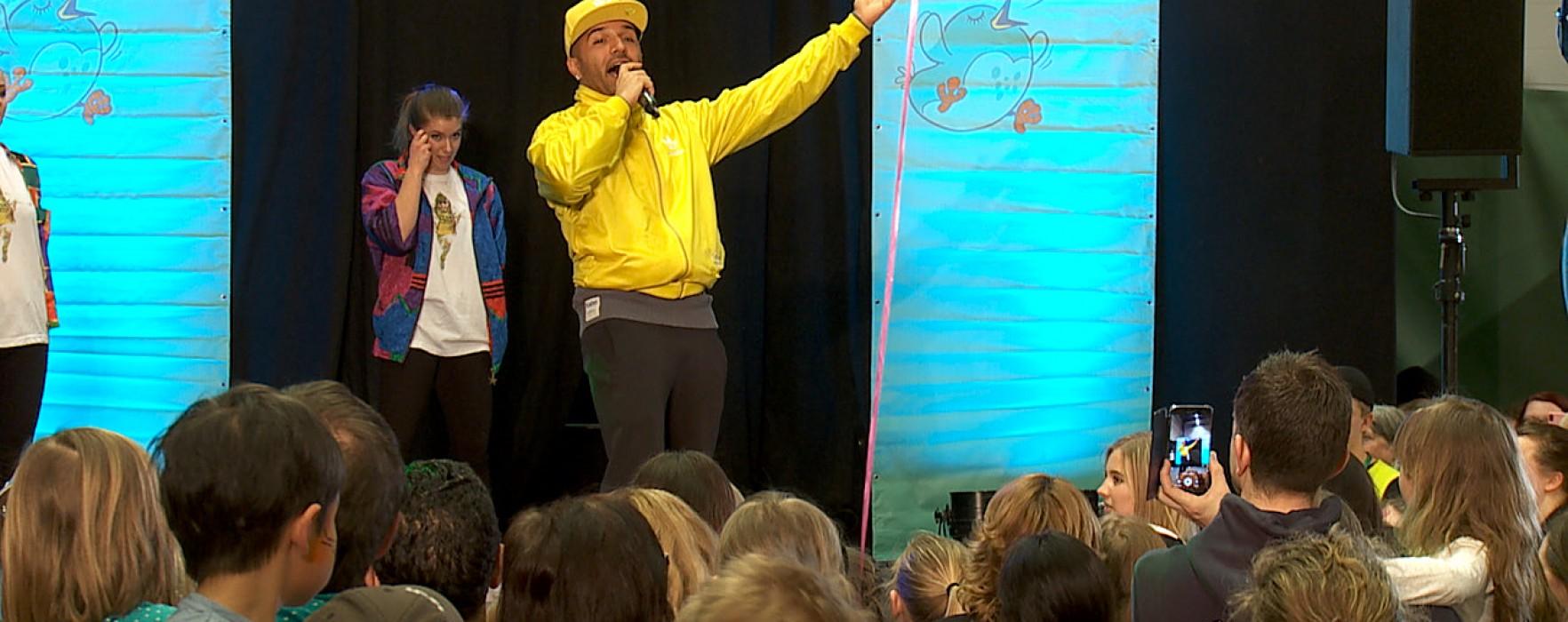 Sean Banan på Barnmässan