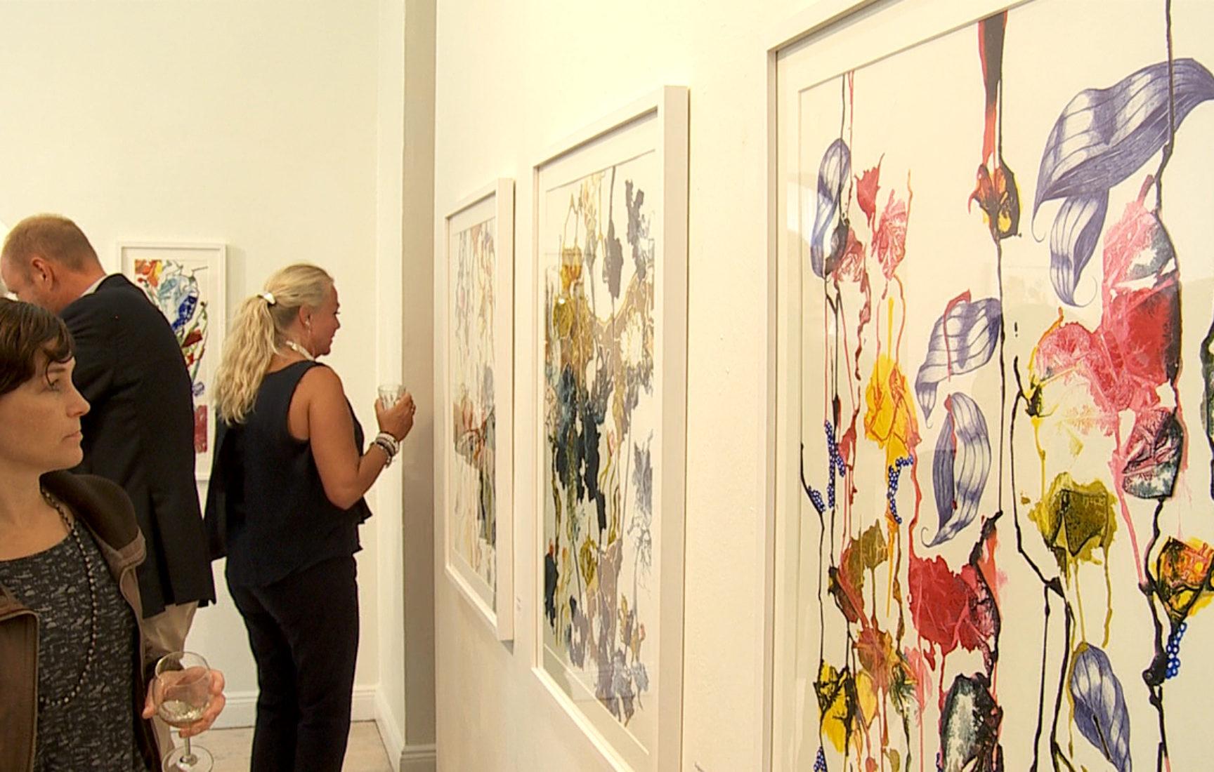 Annelie Hallgren på Galleri Bergman