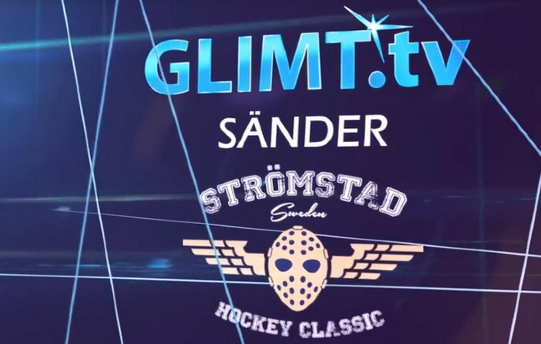 Glimt TV direktsänder Strömstad Hockey Classic