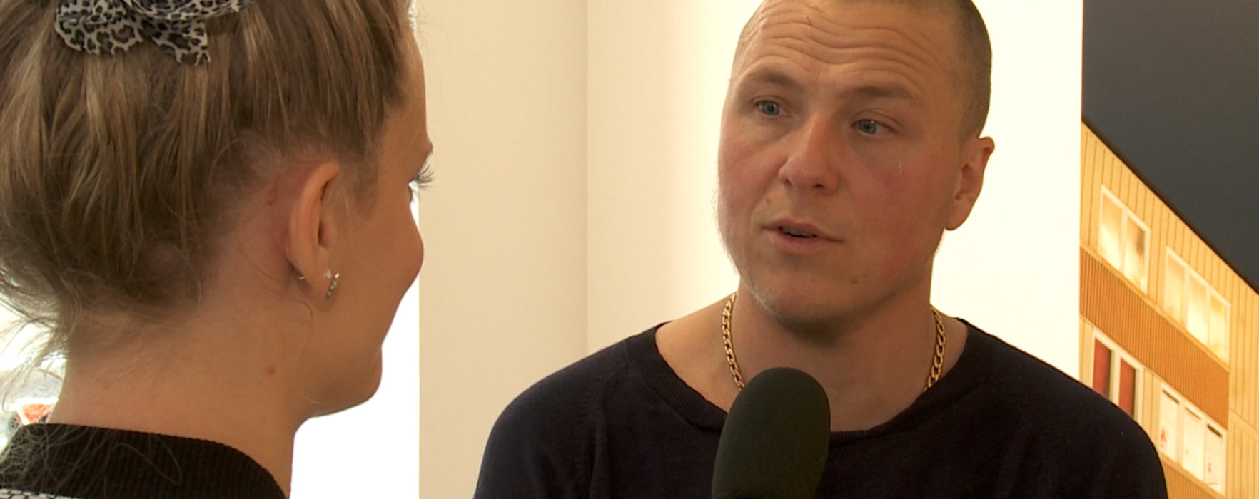 Nino Ramsby på Sandgrund Lars Lerin
