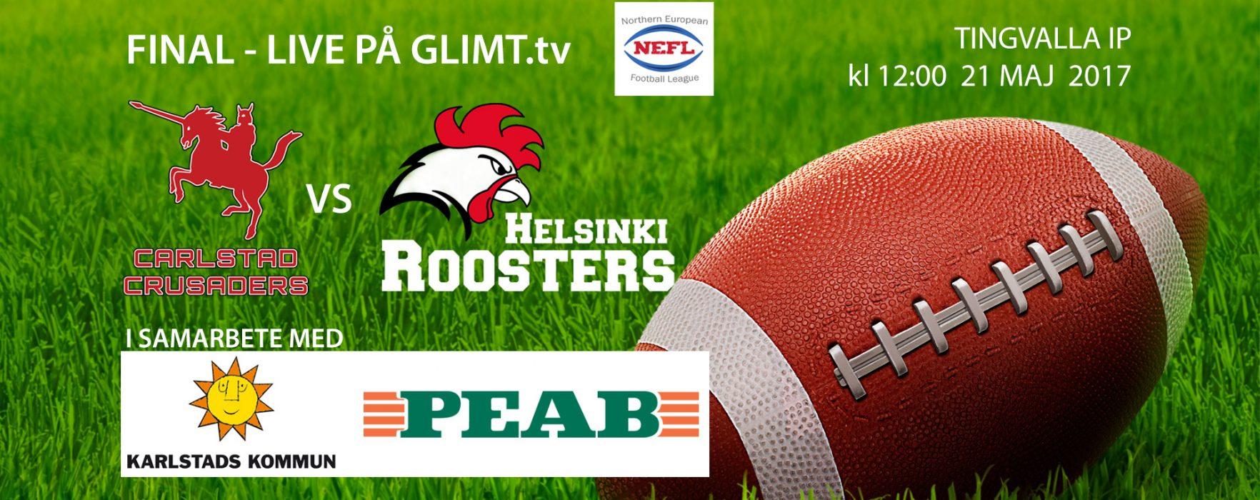 Carlstad Crusaders vs Helsinki Roosters