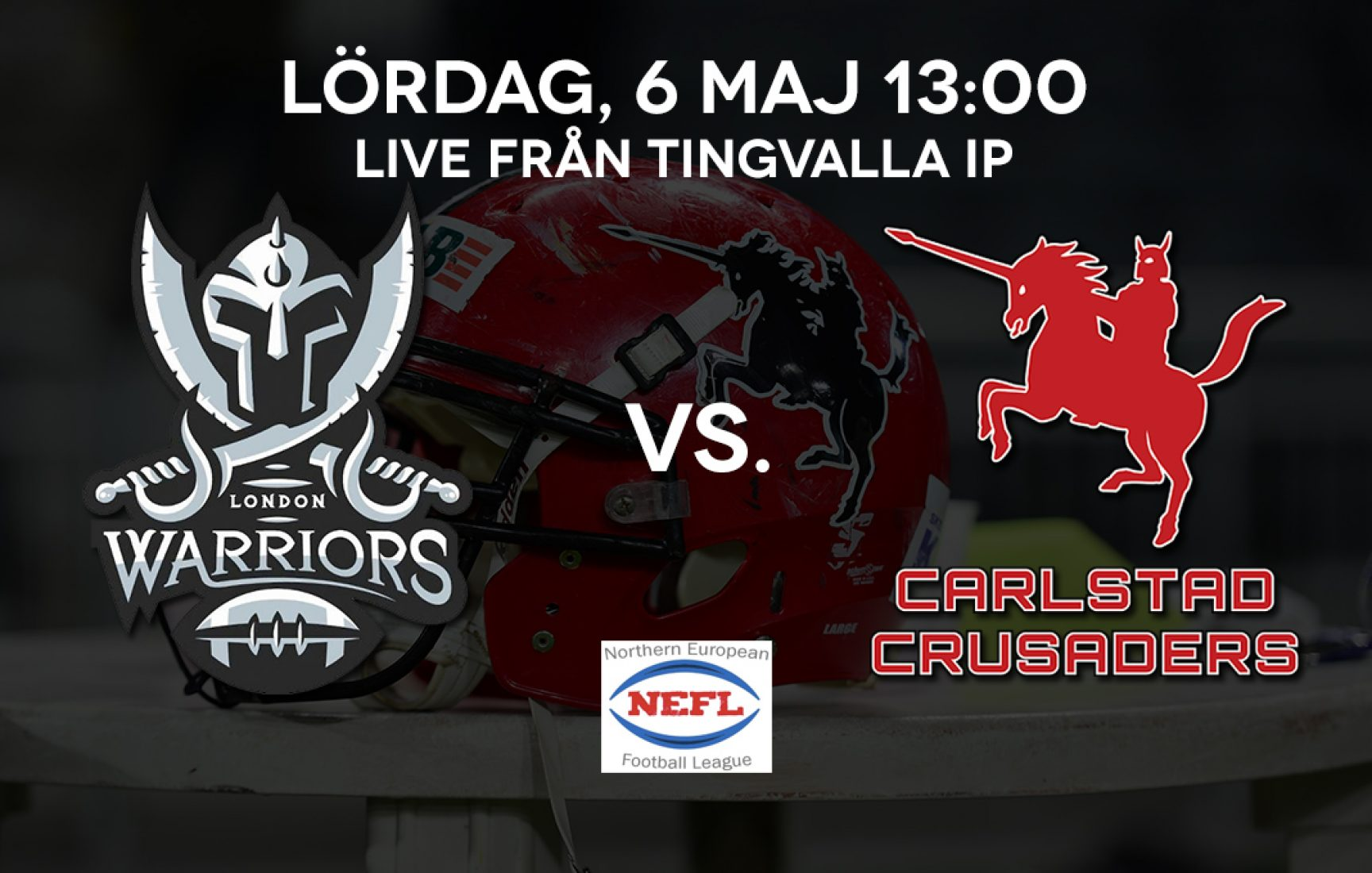 Carlstad Crusaders vs. London Warriors