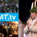 Mariebergsskogens julmarknad med Luciakröning