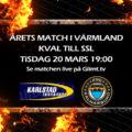 Livestream: Karlstad IBF-FBC Kalmarsund