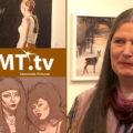 Karlstadskonstnären Cecilia Stigevik på Galleri Bergman