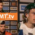 Spelarintervjuer inför kvartsfinalen i hockey
