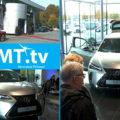 Nya el-hybrid-bilen Lexus UX visades upp i Karlstad