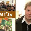 Unga konstnären Albin Liljestrand på Galleri Bergman