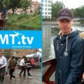 Regnig invigning av Haga torg och båtbusspremiär